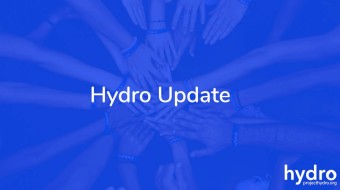 Project Hydro Update: 5th December 2019