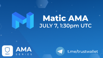 100 $ to win with MATIC on Trust Wallet