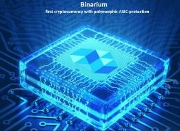 I present this Crypto coin, Binarium