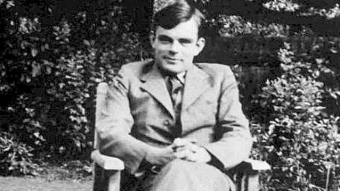 Alan Turing, the mathematician who helped end World War II