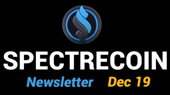 Spectrecoin - December 2019 newsletter