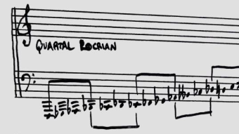 Quartal Locrian Scale (Notation in Thumbnail and Cover Image by Evan Bennet)