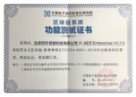 Aelf Joins Lenovo And Alipay By Receiving The Chinese Standardized Institute Certificate