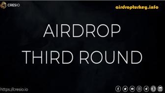 Cresio (CRES) Airdrop Round 3 / Value: 1,728 CRES (~$ 17.5) / No Referral Program /