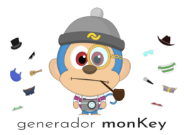 Generate a unique monkey avatar with MonKeyGen from your $BANANO public key