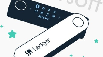 Ledger 20% discount on all products