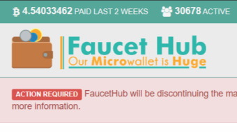 The Final Month Of Faucethub.io