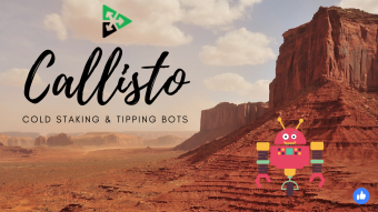 Callisto Network (CLO) Cold Staking And Tipping Bots 🤖