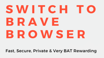 Brave Browser Personalized Infographic / Flyer Free