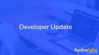 Developer Update: October 2nd 2019