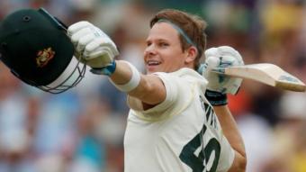Australia scored 497/ 8d , Smith's 211 runs. England score 20/1.