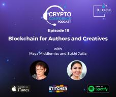 CCP18: Blockchain for Authors and Creatives