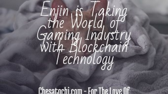 Enjin is Taking the World of Gaming Industry with Blockchain Technology