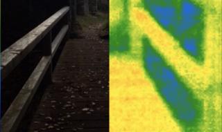 Castle Greifenstein splitscreen infrared