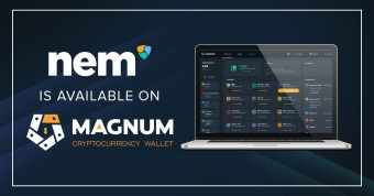 The Magnum e-wallet now supports the XEM coin.
