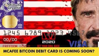 McAfee Bitcoin Debit Card Is Coming Soon?
