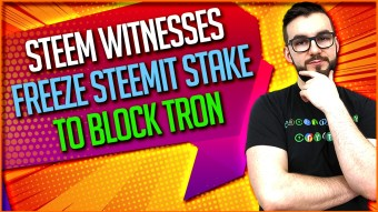 Steem Witnesses Freeze Steemit Stake To Block Tron