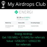 Energi Earndrop (Airdrop)