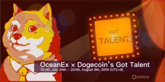 OceanEx x Dogecoin's Got Talent - 500K DOGE Reward for Your Talent