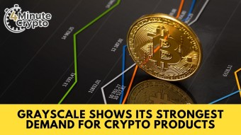 Grayscale Shows Its Strongest Demand For Crypto Products #404