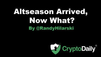 Altseason Arrived, Now What?!