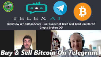 TeleX AI 2019 - Buy & Sell Bitcoin, Ethereum, Litecoin & XRP On Telegram - W/ Nathan Sharp