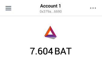 Publish0x - my first withdraw of earned BAT