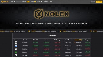 Earn Cryptos With Your Friends Through Tron-Based Exchange, NoleX
