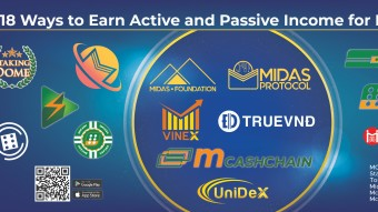 18 Ways to Earn Active and Passive Income with Midas Ecosystem