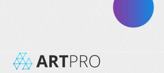 ArtPro - The Art of Blockchain (Infographic)