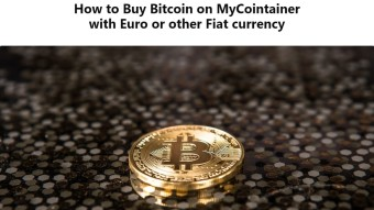How to Buy Bitcoin on MyCointainer with Euro or other Fiat currency