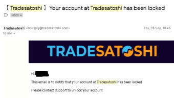 How i got SCAMMED by Trade Satoshi exchange - short story