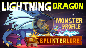 Lightning Dragon - Legendary Monster Profile