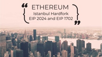 Ethereum Istanbul Hardfork 2 New EIP Approved