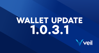 Release of Veil Core wallet version 1.0.3.1