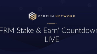 "Ferrum Network staking 2.0, ""FRM stake & earn"": countdown is live!"