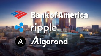 Bank of America explores Blockchain with the help of Ripple & Algorand