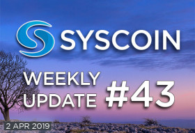Syscoin Weekly Update #43