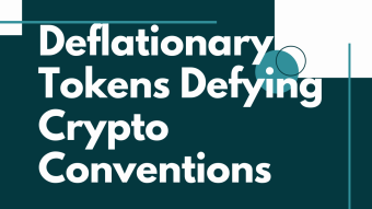 Deflationary Tokens Defying Crypto Conventions