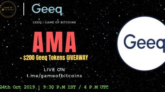 AMA Recap - Geeq x Game of Bitcoins