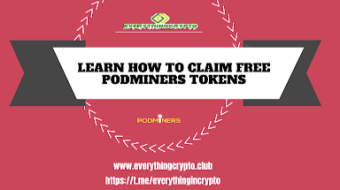 Upcoming Airdrops - Learn How To Claim Free PodMiners Tokens?