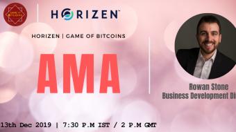 AMA Recap - Horizen x Game of Bitcoins