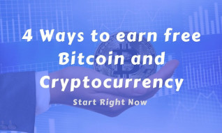 4 Ways to earn free Bitcoin and Cryptocurrency in 2019