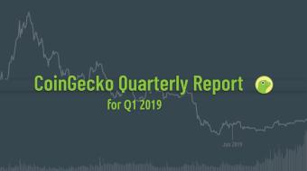 CoinGecko Releases 2019 Q1 Crypto Report