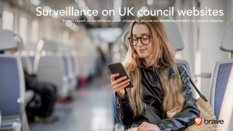 Brave Browser uncovers widespread online surveillance of UK citizens
