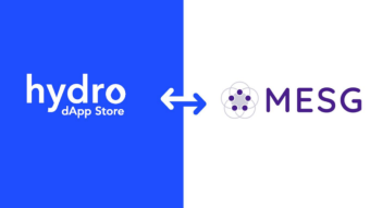Project Hydro and MESG dApps Store 3rd Party Partner
