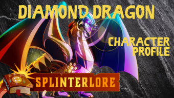 Splinterlands Legendary Dragon Profile - Diamond Dragon