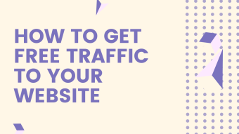 How to grow your websites traffic all free