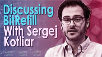 Discussing Bitrefill With Sergej Kotliar
