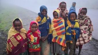 A Foggy Hike Near Gondar, Ethiopia
